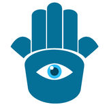 Hamsa hand 1 Royalty Free Stock Photography