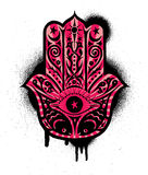 Hamsa hand 3 Royalty Free Stock Photography