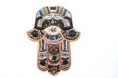 Hamsa-Hand wehren das Symbol des bösen Blicks ab Stockbilder