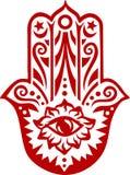 Hamsa - mão de Fatima - amuleto da proteção Imagem de Stock