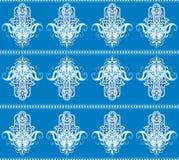 Hamsa symbol seamless pattern Stock Images