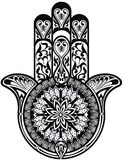Hamsa symbol Stock Photo