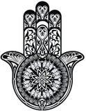 Hamsa symbol Stock Photo