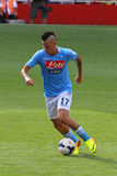Hamsik in Arsenal-Napoli Royalty Free Stock Photography