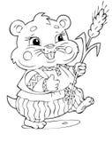 Hamster lizenzfreie abbildung