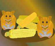 Hamster Illustration Stock