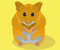 Hamster Illustration de Vecteur