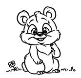 Hamster Coloring Pages Stock Photography
