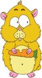 Hamster dos desenhos animados Foto de Stock