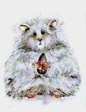 Hamster pequeno, macio Foto de Stock