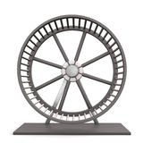 Hamster Running Wheel Stock Images