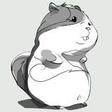 Hamster_sketch Immagini Stock Libere da Diritti