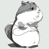 Hamster_sketch Royalty Free Stock Images