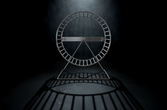 Hamster Wheel Empty Royalty Free Stock Image