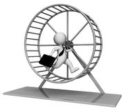 Hamster Wheel  Stock Images