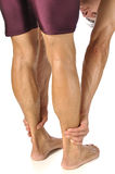 Hamstrings stretch Royalty Free Stock Photos