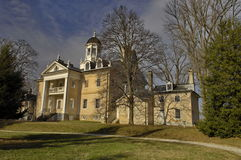 hamton有历史的豪宅 图库摄影
