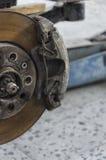 Hamulców calipers samochód Zdjęcie Stock