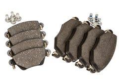 Hamulcowego ochraniacza set z śrubami Fotografia Royalty Free