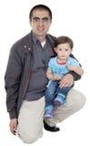 Han älskar hans lilla dotter Royaltyfri Fotografi
