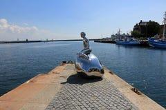 Han η αρσενική γοργόνα Στοκ φωτογραφίες με δικαίωμα ελεύθερης χρήσης