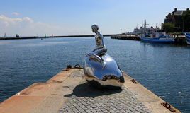 Han the Male Mermaid Stock Image