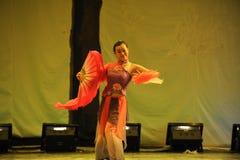 Han-nationaliteitsventilator dans-2011 dansende het Overlegpartij van de klassengraduatie Royalty-vrije Stock Fotografie