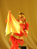 The Han nationality handkerchief-2011 dancing class Graduation Concert party Royalty Free Stock Photos