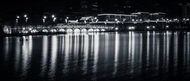 Han Quan bro arkivbild