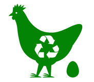 Han recycle vector Stock Image