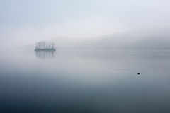 Han River, amanecer tranquilo Fotografía de archivo libre de regalías