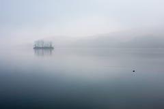 Han River, aube tranquille Photographie stock libre de droits