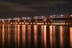 Han River Bridge Royalty Free Stock Photo