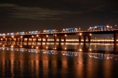 Han River Bridge Stock Photography