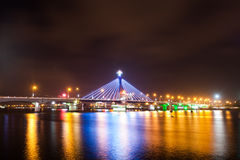 Han River Bridge. Beautiful bridge in Da Nang city royalty free stock image