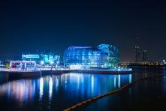 Han River, Seoul, Coreia do Sul fotografia de stock