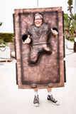 Han Solo carbonite cosplay Stock Images