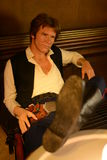 HAN SOLO - Madame Tussauds London. Madame Tussauds in London - Star wars exposition royalty free stock image