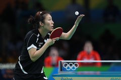 Han Yan at the Olympic Games in Rio 2016. Royalty Free Stock Image