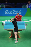 Han Yan at the Olympic Games in Rio 2016. Royalty Free Stock Photo