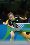 Han Yan at the Olympic Games in Rio 2016. Stock Photo