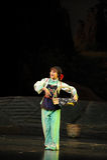 Han young woman- Jiangxi opera a steelyard Stock Image