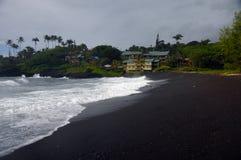 Hana海湾,毛伊,夏威夷 免版税库存图片
