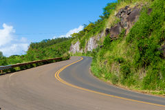 Hana autostrada, Maui Hawaje Zdjęcie Royalty Free