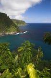 Hana Costa-Maui HI Fotografía de archivo libre de regalías