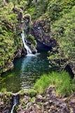 Hana-Datenbahn-Wasserfall Lizenzfreies Stockfoto