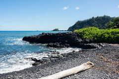 Hana, Havaí Imagem de Stock