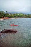 hana hawaii maui Arkivfoto