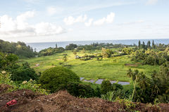 Hana, Hawaii. Maui, Hawaii, with a view of the ocean Stock Images