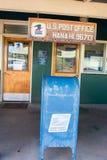 USPS in Hana, Hawaii. Stock Photos